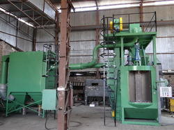 Indexing Hanger Type Shot Peening Machine
