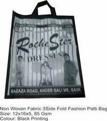 Non Woven Fabric 3 Side Fold Fashion Patti Bag