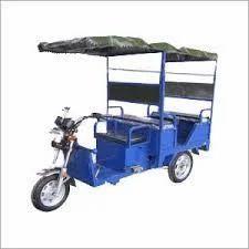 Electric Rickshaw in Raipur, इलेक्ट्रिक
