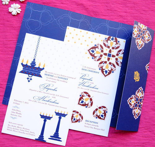 Wedding Card Printing Screen Digital