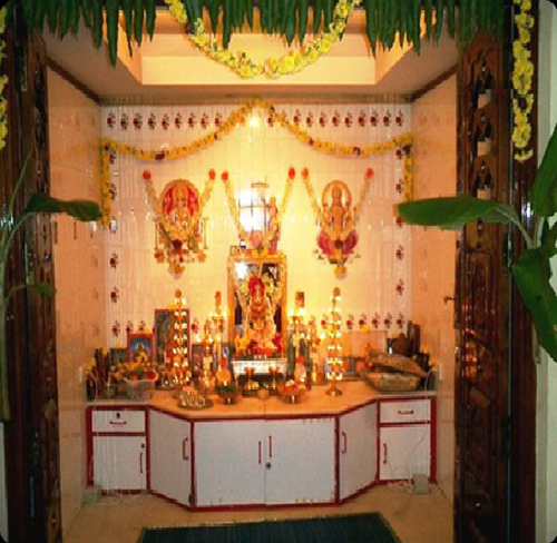 pooja room decoration My Web Value