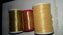 Golden Zari Thread for Sarees