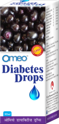 Omeo Diabetes Drops for Clinical, Pack Size: 30mL