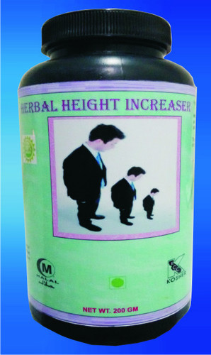 Herbal Height Increaser
