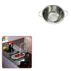 Stainless Steel Colander for Home Usage