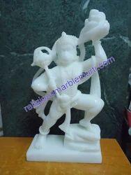 White Marble Hanuman Murti