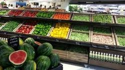 Fruits Vegetables Display