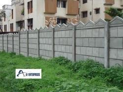 RCC Ready Made Concrete Compound Wall