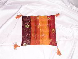 Silk Embroidered Floor Cushions