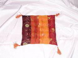 Silk Embroidered Floor Cushions