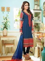 Semi-Stitched Party Wear Exclusive Suit