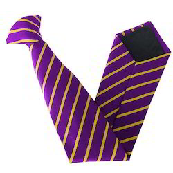 Single Stripe School Tie