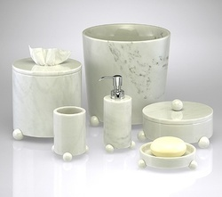 Marble Luxury Bath Accessories