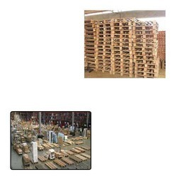 Heavy Wooden Pallets for Packaging Industry