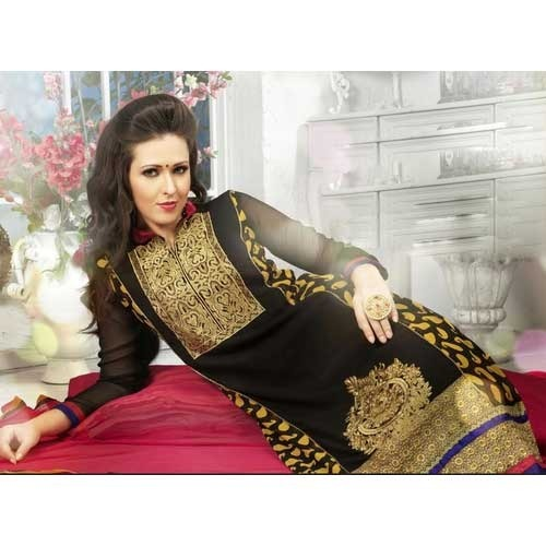 f8bbb8d406 Black Party Wear Ladies Suit - View Specifications & Details of ...