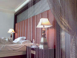 Beaded Bedroom Curtains