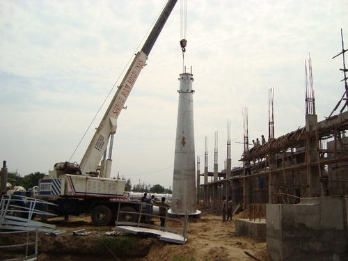 Chimney Erection Job Work in Vadodara, Atladara by Janardan Metal ...