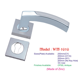 Mortise Handle Two Piece