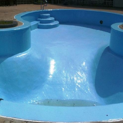 Surface coating services swimming pool coating services - Waterproof paint for swimming pools ...