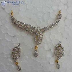 American Diamond Stone Mangalsutra Sets