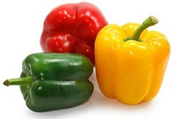Color Capsicum - Red & Yellow