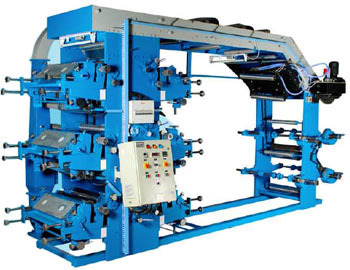 6 Colour Flexographic Printing Machine