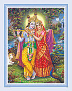 Radha & Krishna Poster
