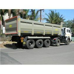 3 axle tip trailer