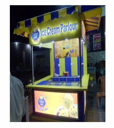 Ice Cream Parlour Designing Service In Mandawali Delhi Enovic