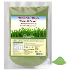 100% Chemical Free and Natural Wheat-O-Power Green Food Powder - 1 kg
