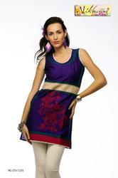 Party Wear Ladies Tunic in Western Style