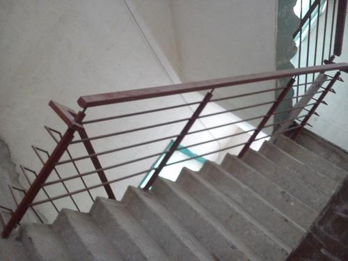 MS Staircase Railing at Rs 1250 /feet   Mild Steel Railing ...