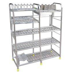 round pipe kitchen stand, kitchen trays and stands | kathwada