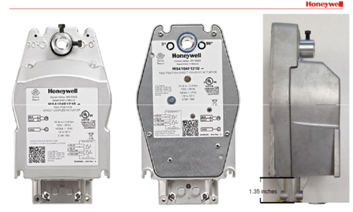 absolute air solutions distributor channel partner of honeywell Honeywell Diaphragm Actuator