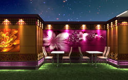 Open Party Lawn Designing