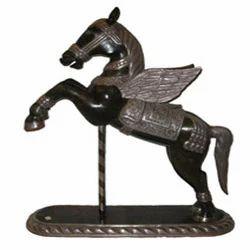 Silver Horse Figurine