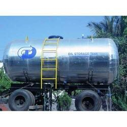 Truck Mounted Oil Storage Tank