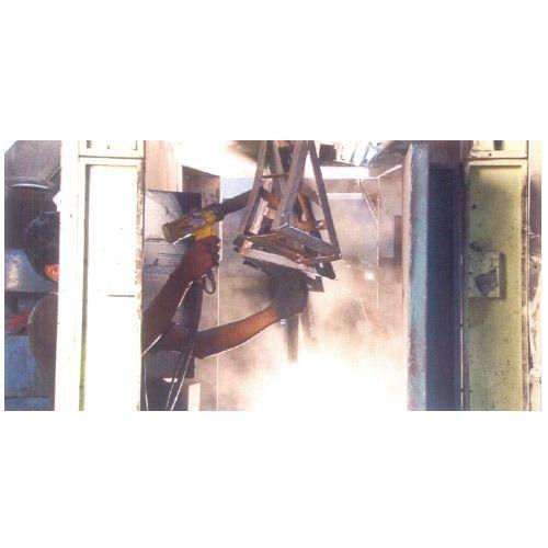 Liquid & Powder Coating Spray Booth - Non Pressurized Side Draft