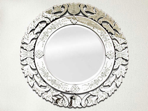 Round Venetian Mirror 48 Inches