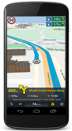 NaviMaps: GPS Navigation, Mobile Apps For Android | New Delhi