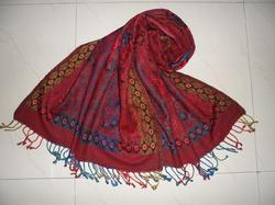 Border Traditional Jamawar Stole