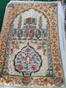 Hand Made Prayer Rugs from Kashmir