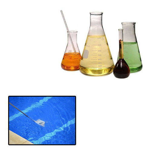 Water treatment chemicals for swimming pools water - Swimming pool water treatment chemicals ...