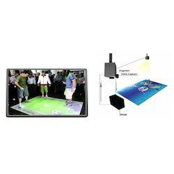 interactive floor projection system - interactive floor projector