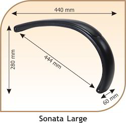 Sonata Large Shaped Chair Handle