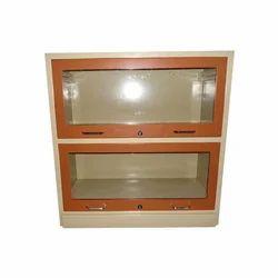 2 Glass Frame Bookcase