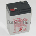 6V-4.5 AH Rechargeable Batteries