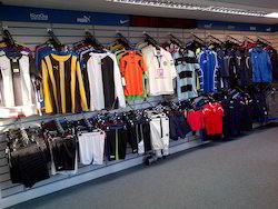 Slatwall Panels For Sports Clothing