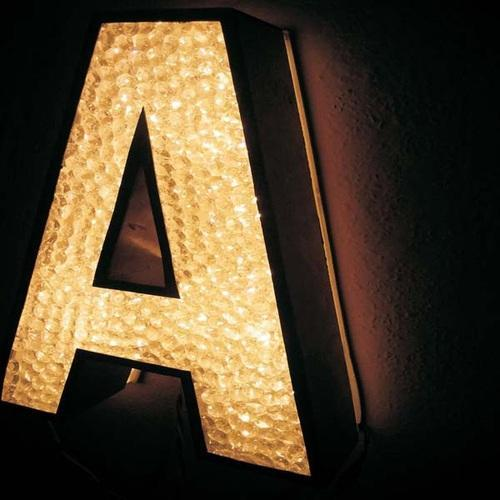 crystal signage crystal signage in ss letters oem manufacturer from new delhi