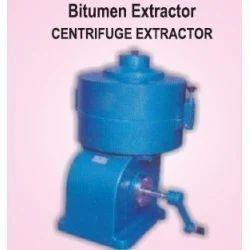 Centrifuge Type Bitumen Extractor